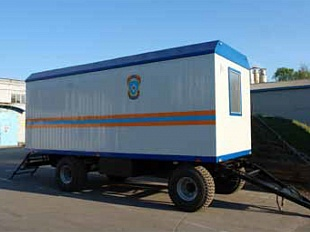 Mobile block-container KP-4
