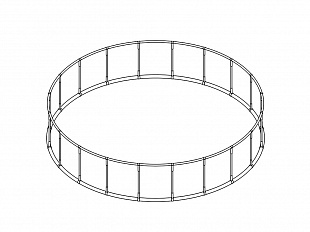 "Circle support ⌀ 2m ""Ring"""
